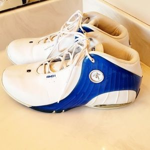 And1 Shoes - AND 1 Basketball Sneakers Sz 11.5